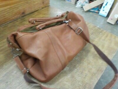 Piel Leather Large Carry-on Satchel 2417
