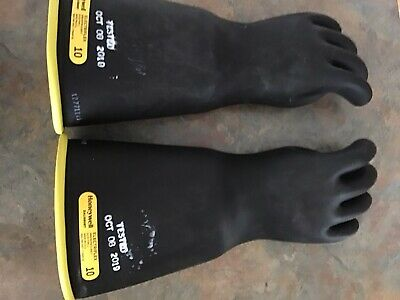 Salisbury Honeywell Electriflex Class 3 Electrician Lineman Gloves Size 10