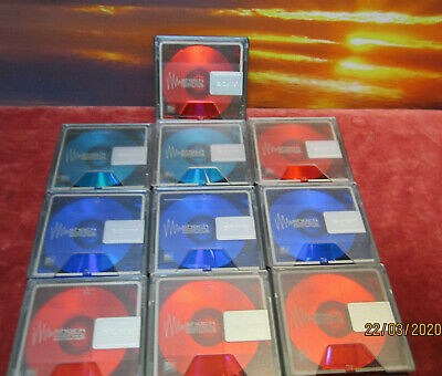 10 x Sony Color Collection/Premium 74min. - Minidisc MD