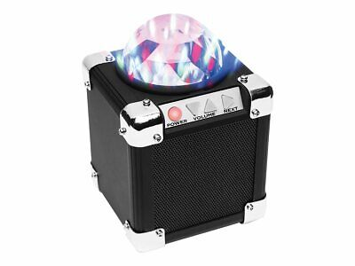 ION Audio Party On Portable Rechargeable Bluetooth Speaker With Party Light