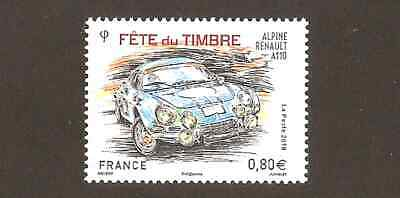 FRANCE 2018 Timbre N° 5204 - ALPINE RENAULT A110 FETE DU TIMBRE ** LUXE MNH