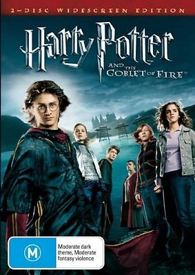 Harry Potter & The Goblet of Fire (DVD Movie, 2005)  Daniel Radcliffe