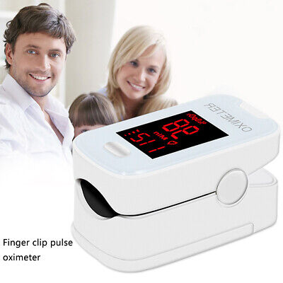 Finger tip Pulse Oximeter Blood Oxygen meter SpO2 Heart Rate Monitor