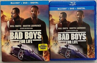 Bad Boys For Life Blu Ray Dvd 2 Disc Set + Slipcover Sleeve Free World Shipping