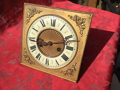 Good Vienna Regulator Type Clock Movement And Dial Square Gustav Becker?