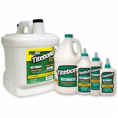 Titebond Ultimate III Wood Glue All Size Bottle Selection