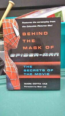 Box015 Behind The Mask Of Spider-Man The Secrets Of The Movie By Mark Cotta Vaz.