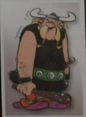 Carte panini N° 70   Asterix sticker carrefour 2019
