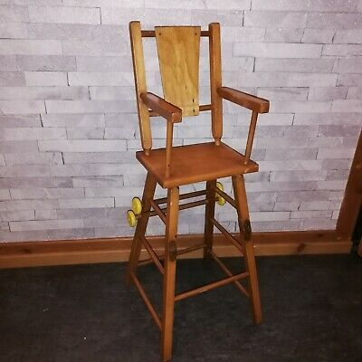 Vintage Dolls Combination HighChair high chair ideal display for vintage dolls
