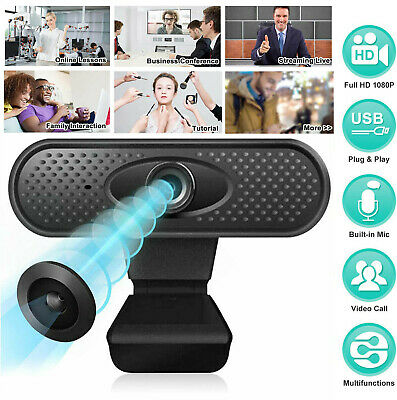 Full HD 1080P Webcam Web Camera Cam For PC Laptop Desktop with Microphone USB2.0