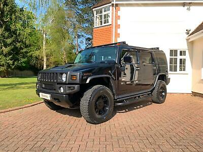 Hummer H2 6.0V8 Black American Truck 4x4 4WD Petrol 2003 Automatic