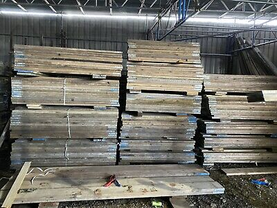 8ft  Scaffold Boards Used