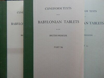 Cuneiform Texts from Babylonian Tablets in the British Museum 50,52,53,56,57
