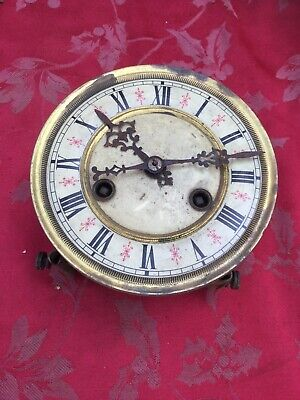 Vienna Type 2 Train Striking Clock Movement For Spares Or Repair Good Springs