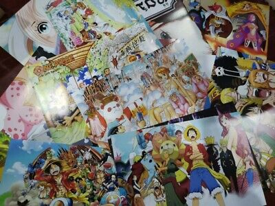 One Piece Character reward Wanted notice Anime Posters wallpaper decorate #69-90