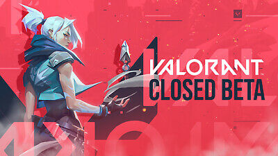 Valorant Closed Beta INSTANT SHIPPING TO YOUR EMAIL. Email can be changed!