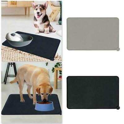 Silicone Pet Puppy Feeding Food Mat Waterproof Dog Non Placemat Slip Cat L6X6