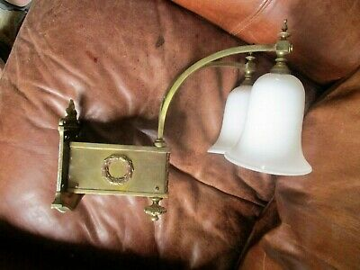 Exceptional Edwardian Wall Light