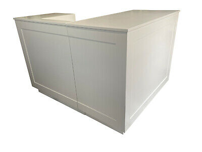 L Shaped Shaker Style Shop Counter