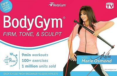 BodyGym with Marie Osmond - Full Body Workout As Seen on TV - Free Shipping!