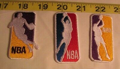 Los Angeles Lakers Kobe Bryant - 3 Patches - Iron On/Sew On (#8)