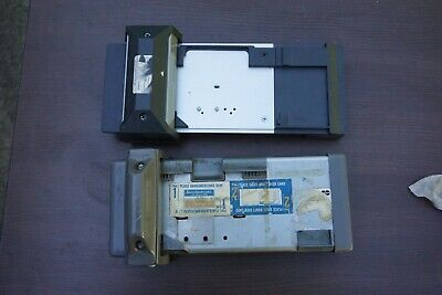 Two Old Credit Card Manual Imprinters Addressograph