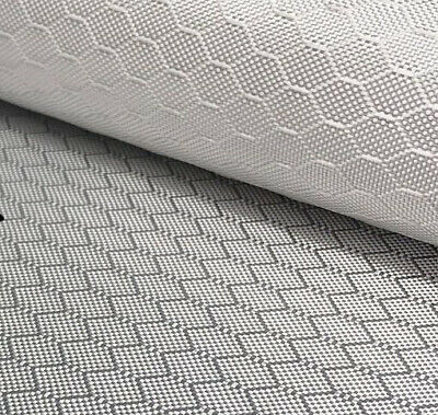 "1K Electroplated Silver Glass Fabric Fiberglass Cloth /""v/"" Weave Reinforcement"
