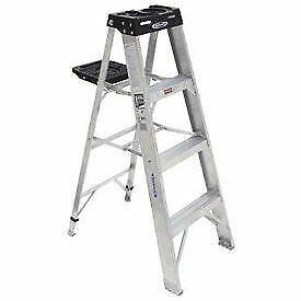 Werner 4' Type 1A Aluminum Step Ladder
