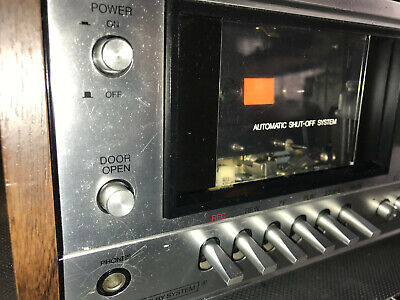 Philips N2519 Tape Deck Stereo Made in Japan