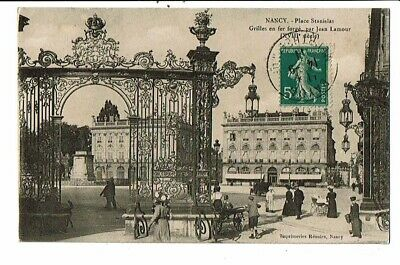 CPA-carte postale-FRANCE-Nancy- Place Stanislas -1911 VMO16068