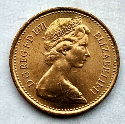 Great Britain 1/2 New Penny 1971