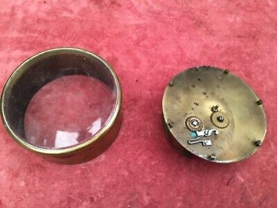 Antique Clock dial and movement, spare or repair