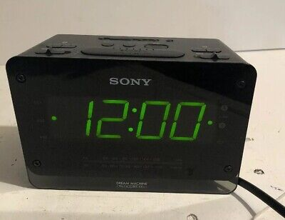 Sony Dream Machine Auto Time Set Radio Alarm