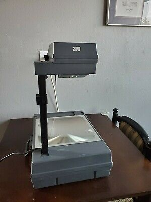 3M 2000AG Overhead Projector Briefcase Portable-EXCELLENT CONDITION