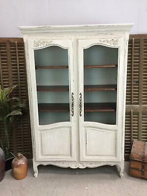 Bookcase / French Oak Bookcase / Vintage Bookcase / Display Cabinet