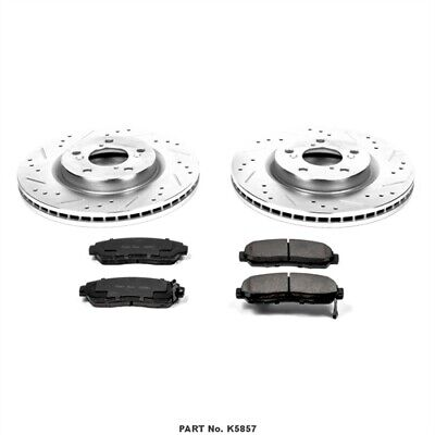 Power Stop K5857 High Performance Brake Upgrade Kit