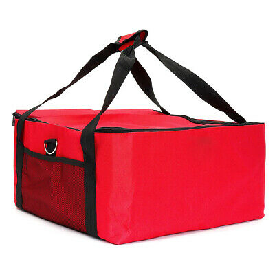 16 Inch Portable Insulated Thermal Durable Container Pizza Delivery Bag Easy Use