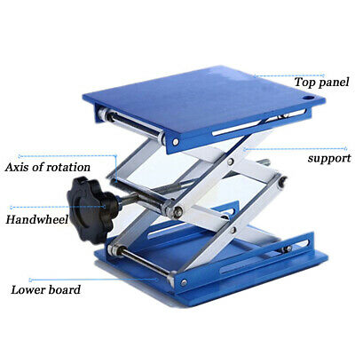 10X10cm Lab-Lift Lifting Platforms Stand Rack Stainless Steel Laboratory
