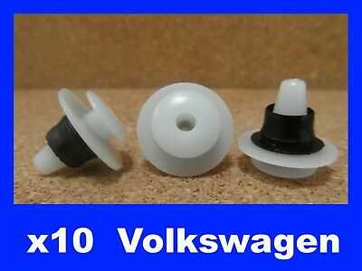 For VW 10 door card fascia panel trim scratch bump rubbing strip fastener clips
