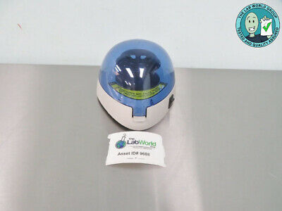 Labnet C1301B Mini Centrifuge with Warranty SEE VIDEO