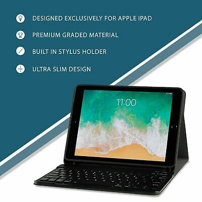 Ipad Keyboard Case 9.7 and 10.2 with Detachable Magnetic Bluetooth Keyboard