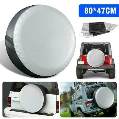 Wheel Spare Tire Cover Case Pouch Protector For Jeep SUV Trailer Truck N6N6