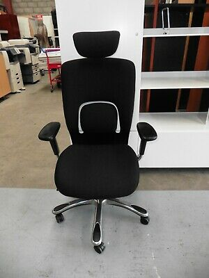 Office Black Executive Chair With Head Rest Brisbane