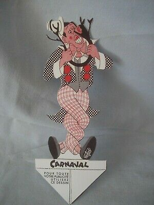 DUBOUT - Carnaval  - Marque page - Fernandel