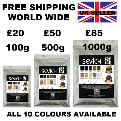 Refill Hair Fibers Keratin Building Thickening Pack  100g-1kg Salon Wholesale