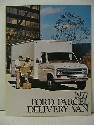 Showroom Ford Dealer MINT Parcel Delivery Van Truck 1979 Brochure