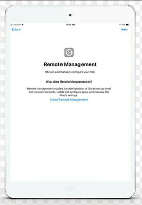 REMOTE MANAGEMENT BYPASS for Apple iPHONE/ iPOD/ iPAD - IOS 13.4 SUPPORTED