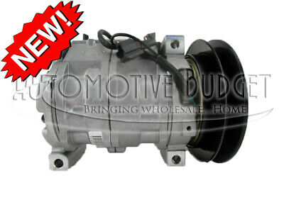 A/C Compressor w/Clutch for Isuzu NPR, NPR-HD, NPR-XD w/Diesel Engine - NEW