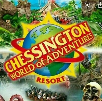 2 X Full day entry Tickets 8th September 2020 - Chessington Tickets