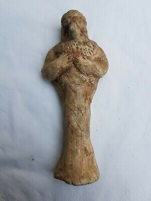 Syro Hittite Ancient Clay Idol Figure Near East